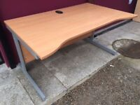 Beech 1400 double wave office desk delivered to Belfast