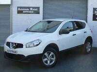 2013 63 Nissan Qashqai 1.5dCi 2WD Visia for sale in AYR