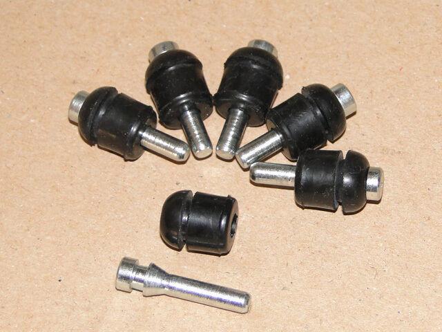 6 Halter für Deutz 06 Frontscheinwerfer Befestigungsstift 2506 - 130006 Traktor Foto 1