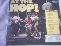 Vinyl LP At The Hop ! - Various Artists 31 Good Tracks 3 LP's Set Brookville BR 4600