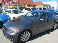 2007 BMW 3 Series 335xi AWD S-ROOF LEATHER 118K- APPROVED FINANC