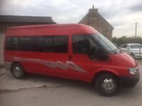 transit 15 seat minibus low mileage