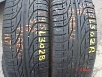 195 55 15 Pirelli, P6000 Powergy, 85H, x2 A Pair, 6.0mm (450-458 Barking Road,E13 8HJ) Part Worn