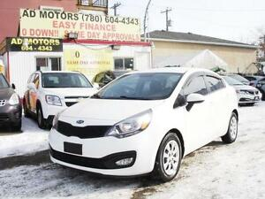 2012 KIA RIO GDI AUTO LOADED SHARP LOOK 91K 100% FINANCING!!