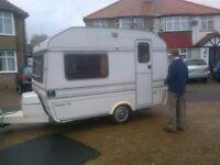 One off job driving caravan