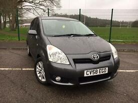 Toyota Verso 2.2 D-4D SR 7 SEATER DIESEL 2008/58 *VERY LOW MILES, IMMACULATE CAR