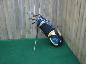 Men's left hand adam golf club set