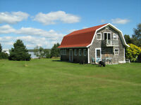"""WATERVIEW House,Studio ,Cottage , """"Shack"""" .. and 3 acres !!"""