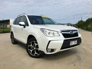 2013 Subaru Forester S4 MY13 XT Lineartronic AWD White 8 Speed Constant Variable Wagon Garbutt Townsville City Preview