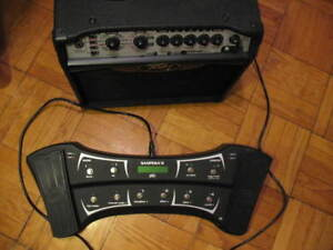 Guitar Amplifier and Foot Pedal