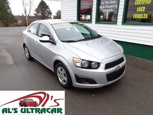 2016 Chevrolet Sonic LT Sedan only $109 bi-weekly all in!