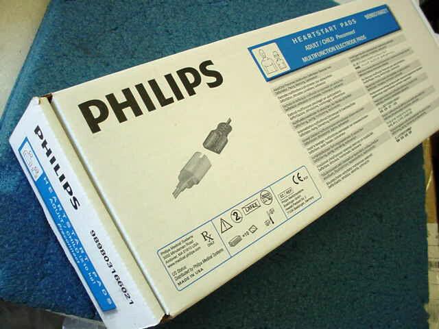 10 Philips 989803166021 HeartStart Adult Preconnect Multifunction Electrode Pads