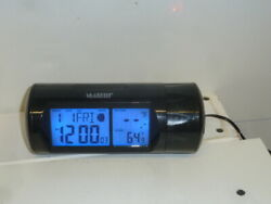 La Crosse Technology 616-143 LCD Backlite & Projection Alarm Clock Temperature