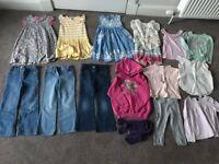 5-6 girls Bundle - 15 items. Boden, Disney, M&S, Vertbaudet, NEXT, Zara, Happy House, Leigh Tucker