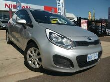 2014 Kia Rio UB MY14 S Silver 6 Speed Manual Hatchback Belconnen Belconnen Area Preview