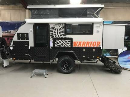 2018 WARRIOR OFF ROAD HYBRID CARAVAN WITH ENSUITE Para Hills West Salisbury Area Preview