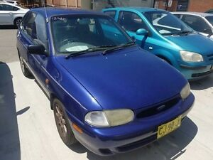 1998 Ford Festiva WF GLXi Blue 4 Speed Automatic Hatchback Georgetown Newcastle Area Preview