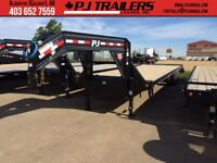 32' Gooseneck Trailer 12K axles 25000gvwr (28000 up grade avail) Calgary Alberta Preview