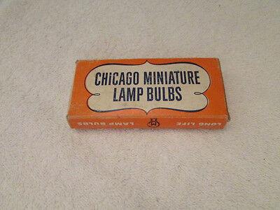 Vintage Chicago Miniature Lamp Bulbs  8  -AB