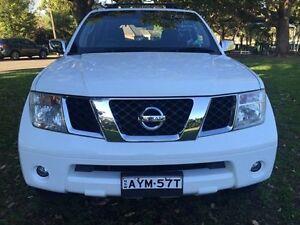 2006 Nissan Pathfinder TDI White Automatic Croydon Burwood Area Preview