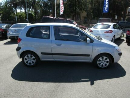 2007 Hyundai Getz TB Upgrade 1.4 Silver 5 Speed Manual Hatchback Waratah Newcastle Area Preview