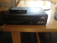 BUSH VHS player with remote