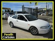 2001 Mitsubishi Lancer CE2 GLi White 4 Speed Automatic Coupe Penrith Penrith Area Preview