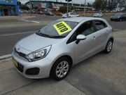 2014 Kia Rio UB MY14 S Silver 4 Speed Sports Automatic Hatchback Fyshwick South Canberra Preview