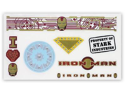 Iron Man Ironette Body Art Costume Prop Accessory