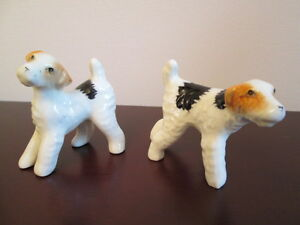 PORCELAIN BONE CHINA TERRIER DOGS**MINIATURE SIZE** London Ontario image 1