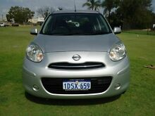 2011 Nissan Micra K13 ST Silver 5 Speed Manual Hatchback Embleton Bayswater Area Preview