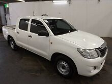 2011 Toyota Hilux GGN25R MY11 Upgrade SR (4x4) Glacier White 5 Speed Automatic Dual Cab Utility Geebung Brisbane North East Preview