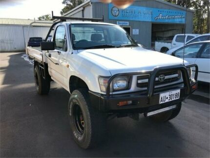 1997 Toyota Hilux RZN169R (4x4) 5 Speed Manual 4x4 Cab Chassis Margaret River Margaret River Area Preview