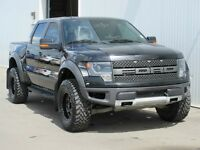 2013 F-150 Raptor Leather/Sunroof/Nav Low Payments! One Owner!