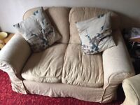 3piece suite, by sofa sofa.washable covers . Good condition.quick sale