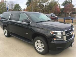 2017 Chevrolet Suburban LT black leather NAV DVD 8 seats 18000km