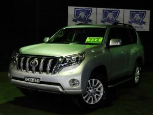 2014 Toyota Landcruiser Prado KDJ150R MY14 VX Silver 5 Speed Sports Automatic Wagon Albion Park Rail Shellharbour Area Preview