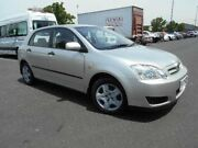 2006 Toyota Corolla ZZE122R MY06 Ascent Seca Silver 4 Speed Automatic Hatchback Maidstone Maribyrnong Area Preview