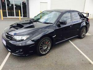 2011 Subaru Impreza MY11 WRX (AWD) Black 5 Speed Manual Sedan Beckenham Gosnells Area Preview