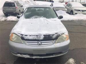 BELLE Honda civic année 2003,moteur 1.7L 160000KM $1699