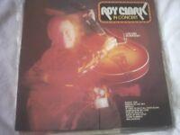 Vinyl LP Roy Clark In Concert
