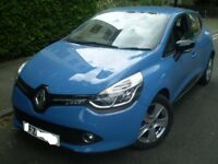 2014 RENAULT CLIO 0.9 TCE DYNAMIQUE SPORT MEDIA NAV (19K MILES/FSH/PRIVATE PLATE) EXCELLENT
