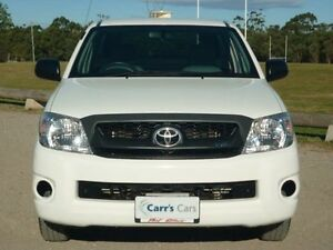 2010 Toyota Hilux GGN15R MY10 SR White 5 Speed Automatic Utility Brookvale Manly Area Preview