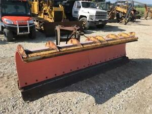 Snow Plows For Loaders Backhoes Truck