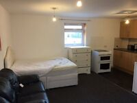 One bedroom self contained studio flat