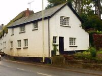 Three bedroom cottage for rent in Newton St Cyres