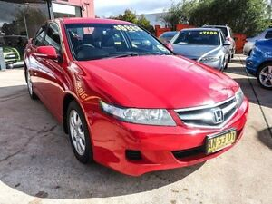 2006 Honda Accord Euro CL Sport Red 5 Speed Automatic Sedan Fyshwick South Canberra Preview