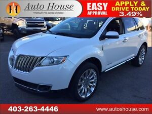 2013 Lincoln MKX NAVIGATION BACKUP CAMERA 90 DAY NO PAYMENTS