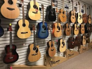 Arden's Music Acoustic Guitar Department