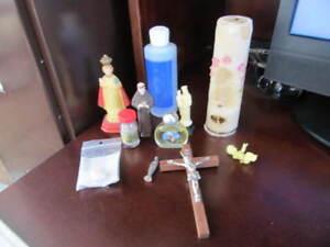 PLUSIEURS ARTICLES CONCERNANT LA RELIGION....$10 LE TOUT